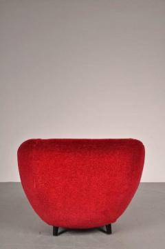 Guglielmo Veronesi 1950s Easy Chair Attributed to Guglielmo Veronesi for I S A Bergamo - 821740