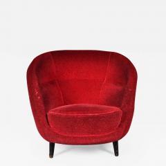 Guglielmo Veronesi 1950s Easy Chair Attributed to Guglielmo Veronesi for I S A Bergamo - 823014
