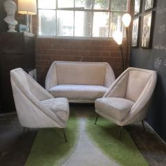 Guglielmo Veronesi Guglielmo Veronesi Settee with Two Lounge Chairs - 828334