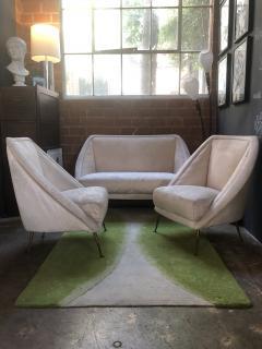 Guglielmo Veronesi Guglielmo Veronesi Settee with Two Lounge Chairs - 828337