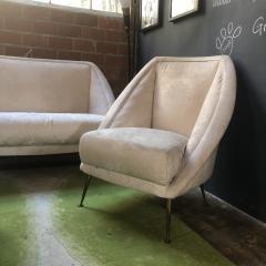 Guglielmo Veronesi Guglielmo Veronesi Settee with Two Lounge Chairs - 828339