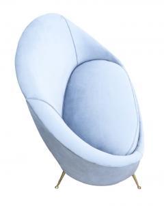 Guglielmo Veronesi Love Seat by Veronesi for ISA Italy 1960s - 1537048