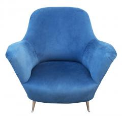 Guglielmo Veronesi Pair of Lounge Chairs by Veronesi for ISA Italy 1960s - 1537013
