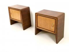 Gugliemo Ulrich Pair of Stunning Nightstands by Guglielmo Ulrich Italy 1930s 1940s - 393175