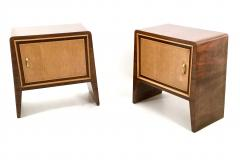 Gugliemo Ulrich Pair of Stunning Nightstands by Guglielmo Ulrich Italy 1930s 1940s - 393180