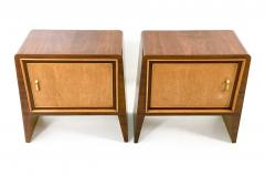 Gugliemo Ulrich Pair of Stunning Nightstands by Guglielmo Ulrich Italy 1930s 1940s - 393181