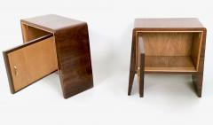 Gugliemo Ulrich Pair of Stunning Nightstands by Guglielmo Ulrich Italy 1930s 1940s - 393182