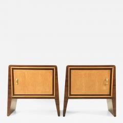 Gugliemo Ulrich Pair of Stunning Nightstands by Guglielmo Ulrich Italy 1930s 1940s - 397152