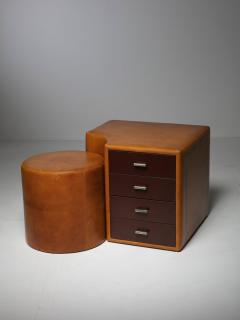 Guido Faleschini Set of Two Chest of Drawers and Stools by Guido Faleschini for I 4 Mariani - 1044953