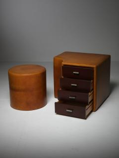 Guido Faleschini Set of Two Chest of Drawers and Stools by Guido Faleschini for I 4 Mariani - 1044955