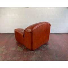 Guido Faleschini Vintage Guido Faleschini Leather Lounge Chairs a Pair - 1692106