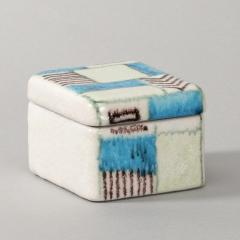 Guido Gambone A ceramic lided box with abstract decor - 1130698