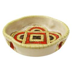 Guido Gambone Guido Gambone Artfully Crafted Ceramic Bowl 1950s - 336432