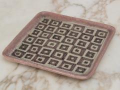 Guido Gambone Guido Gambone Square Ceramic Tray - 1534770