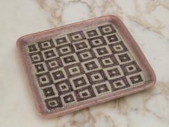 Guido Gambone Guido Gambone Square Ceramic Tray - 1534774