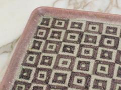 Guido Gambone Guido Gambone Square Ceramic Tray - 1534812