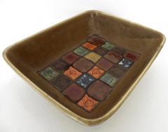 Guido Gambone Italian Ceramic Dish by Guido Gambone - 432838