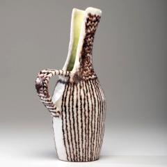 Guido Gambone Italian Ceramic Sculptural Pitcher by Guido Gambone - 1489396