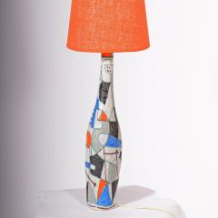 Guido Gambone Large Guido Gambone table lamp1950s - 1573154