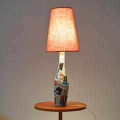 Guido Gambone Large Guido Gambone table lamp1950s - 1573155