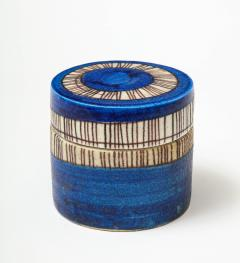 Guido Gambone Signed Guido Gambone Ceramic Container Italy circa 1950 - 1326070