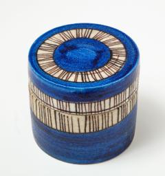 Guido Gambone Signed Guido Gambone Ceramic Container Italy circa 1950 - 1326071