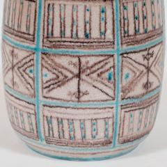Guido Gambone Signed Guido Gambone Mid Century Modern Hand Painted Ceramic Vase - 1560357