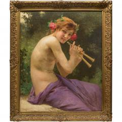 Guillaume Seignac A Fine 19th Century Guillaume Seignac Painting Entitled Fuanesse - 1471908