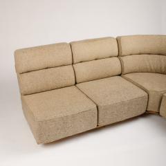 Guillerme et Chambron A four part sofa in solid oak by French designers Guillerme et Chambron - 1685338