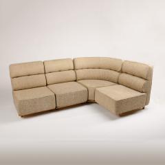 Guillerme et Chambron A four part sofa in solid oak by French designers Guillerme et Chambron - 1685339
