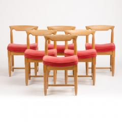 Guillerme et Chambron A set of six French Guillerme et Chambron dining chairs circa 1960 - 1661014