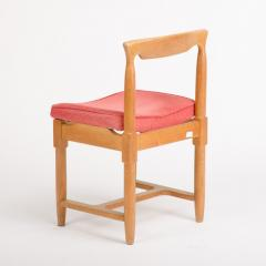 Guillerme et Chambron A set of six French Guillerme et Chambron dining chairs circa 1960 - 1661030