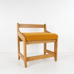 Guillerme et Chambron French Guillerme et Chambron Stool Hungarian Oak Wool - 874045