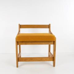 Guillerme et Chambron French Guillerme et Chambron Stool Hungarian Oak Wool - 874046