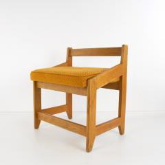 Guillerme et Chambron French Guillerme et Chambron Stool Hungarian Oak Wool - 874047