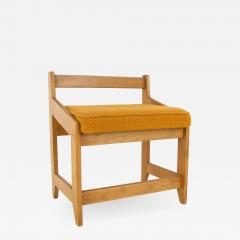 Guillerme et Chambron French Guillerme et Chambron Stool Hungarian Oak Wool - 875105