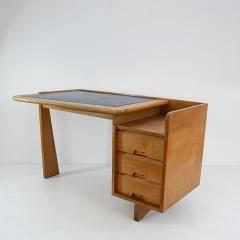 Guillerme et Chambron Guillerme and Chambron 3 Drawers Oak Desk with matching chair - 908839