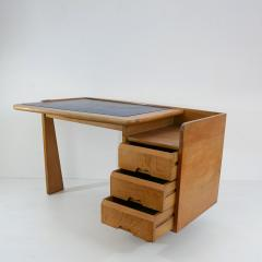 Guillerme et Chambron Guillerme and Chambron 3 Drawers Oak Desk with matching chair - 908840