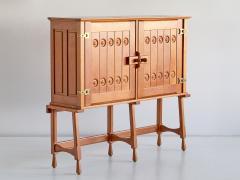 Guillerme et Chambron Guillerme et Chambron Cabinet in Solid Oak Votre Maison France 1960s - 1555576