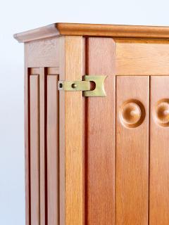 Guillerme et Chambron Guillerme et Chambron Cabinet in Solid Oak Votre Maison France 1960s - 1555580