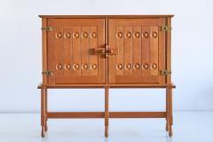 Guillerme et Chambron Guillerme et Chambron Cabinet in Solid Oak Votre Maison France 1960s - 1555581
