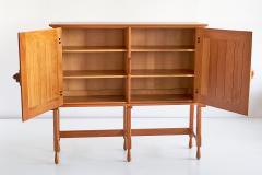 Guillerme et Chambron Guillerme et Chambron Cabinet in Solid Oak Votre Maison France 1960s - 1555582