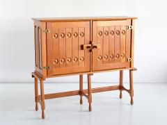 Guillerme et Chambron Guillerme et Chambron Cabinet in Solid Oak Votre Maison France 1960s - 1555583