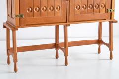 Guillerme et Chambron Guillerme et Chambron Cabinet in Solid Oak Votre Maison France 1960s - 1555584