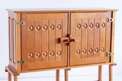 Guillerme et Chambron Guillerme et Chambron Cabinet in Solid Oak Votre Maison France 1960s - 1555585