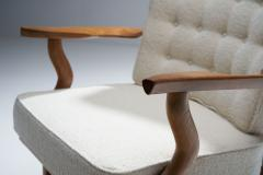 Guillerme et Chambron Guillerme et Chambron Grand Repos Lounge Chair France 1950s - 1218043