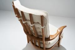 Guillerme et Chambron Guillerme et Chambron Grand Repos Lounge Chair France 1950s - 1218044