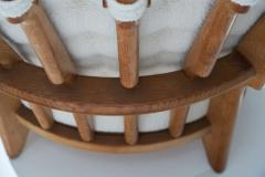 Guillerme et Chambron Guillerme et Chambron Grand Repos Lounge Chair France 1950s - 1218046