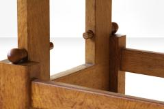 Guillerme et Chambron Guillerme et Chambron Height Adjustable Solid Oak Coffee Table 1960s - 931961