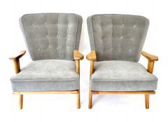 Guillerme et Chambron Guillerme et Chambron Lounge Chairs for Votre Maison - 805642